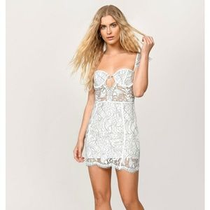 Tobi Victoria Lace Mini Dress